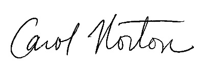 Carol Norton Signature