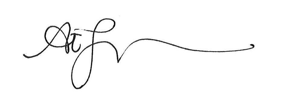 Angelisa Espinoza Signature