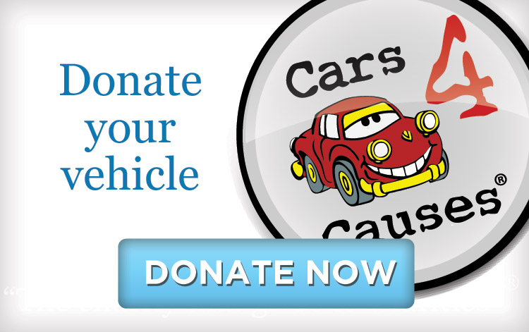 Cars for Causes Donation Button