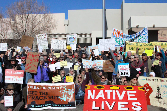 Chaco BLM Demonstration Jan 2017
