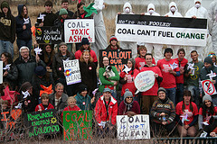Fossil Fuels Day Rally 2009 pc WildEarth Guardians