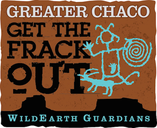 Get the Frack Out of Greater Chaco Logo