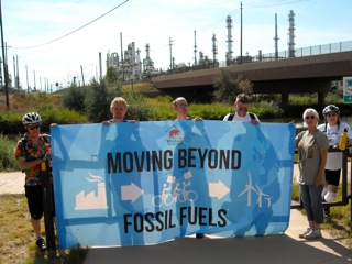 Global Movement Against Fossil Fuels Rally