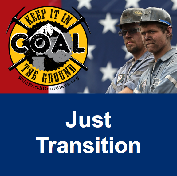 Just transition square banner