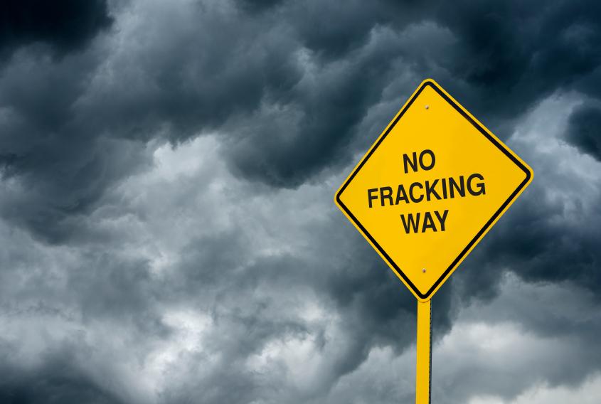 No Fracking Way pc istock