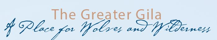Place for Wolves and Wilderness graphic