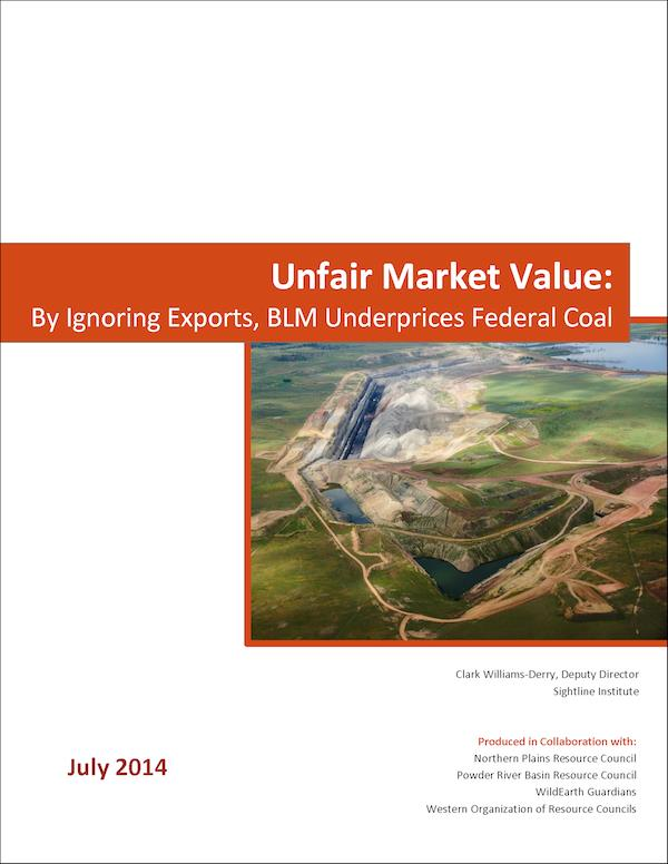 Unfair Market Value report cover