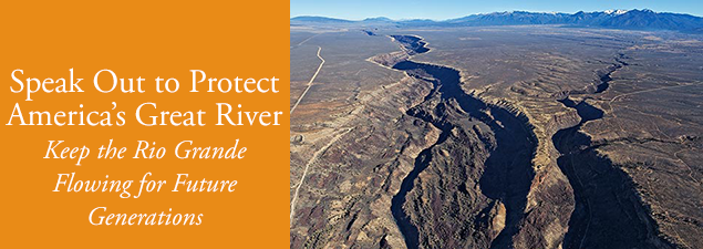 Rio Grande Waterkeeper Action Slider