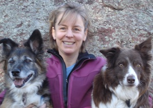Wendy Keefover Staff Image with Dogs